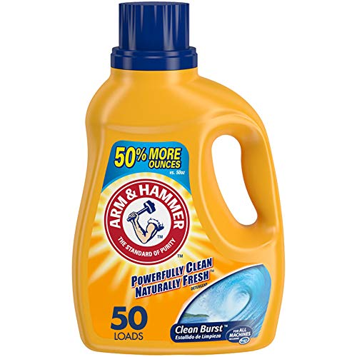 (31% OFF) Arm & Hammer Clean Burst Liquid Laundry Detergent $2.99 Deal