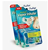 SleepRight Intra-Nasal Vapor Inhaler Nasal Congestion Reducer SleepRight Nasal Breathe Aid (2-Pack)