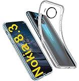 tomaxx Schutzhülle für Nokia 8.3 5G Hülle Hülle Silikon Durchsichtig transparent kompatibel mit Nokia 8.3 5G