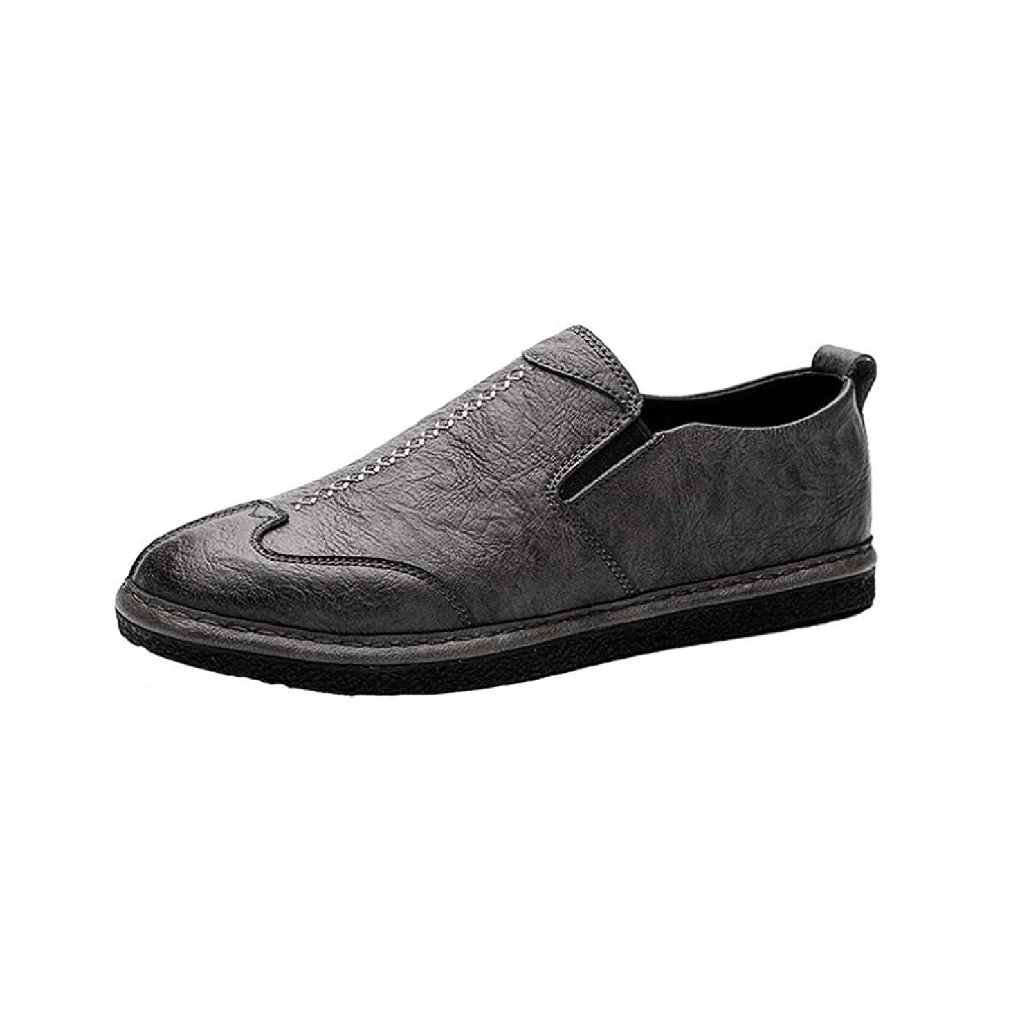 ゆりかご地殻領事館[YUL] ドライビングシューズ メンズ ローファー スリッポン モカシン ビジネスシューズ 紳士靴 転靴 カジュアルシューズ 防滑 軽量 通気 快適 シューズ フラット アウトドアシューズ ファッションシューズ つま先
