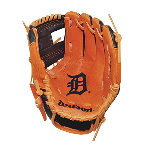 Wilson A0200 Detroit Tigers Baseball Gloves, 10
