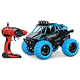 Decoracin de escritorio 2WD 360  tirn sobre el coche del truco de 2.4G Profesional de control remoto de camiones de juguete recargable mini RC de vehculos con faros LED Fuerte caballos de fuerza O