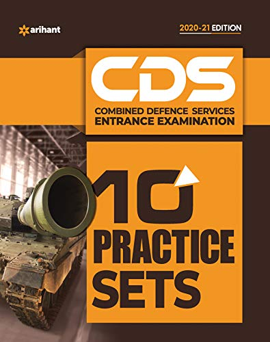 10 Practice Sets CDS Combined Defence Services Entrance Examination 2020