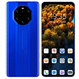 Xuzuyic Teléfono con Pantalla de 5.8 Pulgadas/Tarjeta Dual/Modo de Espera Dual/Smartphone / 512MB + 4GB / hasta 128GB de Almacenamiento expandible/Cámara de Alta definición/Negro y Azul.(Azul)