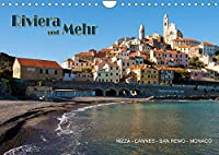 Riviera und Mehr - Nizza, Cannes, San Remo, Monaco (Wandkalender 2022 DIN A4 quer): Bilder entlang der Riviera (Monatskalender, 14 Seiten )