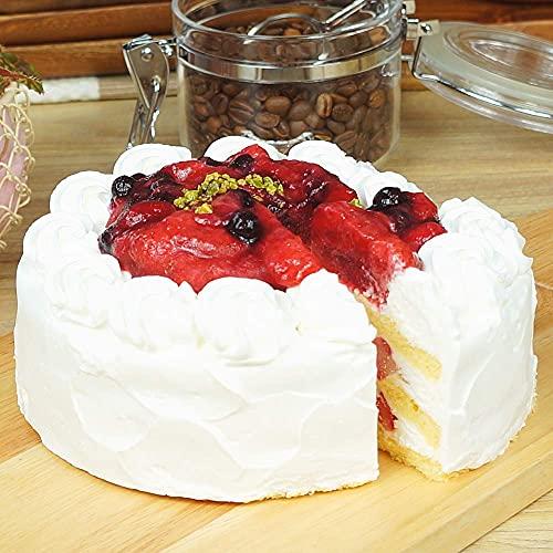【工場直送】あまおういちごのショートケーキ 5号(14cm) ホールケーキ 冷凍 たべるン 誕生日 敬老の日