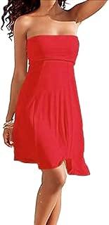 SodaCoda Women's 4 in 1 - Beach Cover-up Dress or Long Skirt (S-XL)