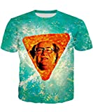 Dorathy Cool 3d Boys Printed Danny DeVito in Nacho Cheese Flavor Short Sleeve Casual T-shirts