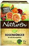 Naturen Bio Rosen, Organisch-mineralischer Volldünger für alle Rosengewächse mit natürlicher Langzeitwirkung, 1,7 kg