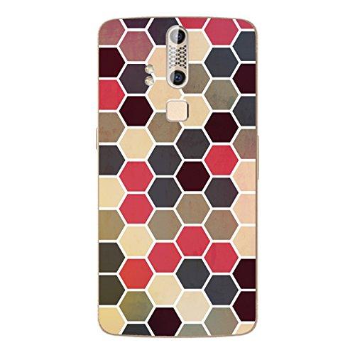 Disagu SF-106600_1205 Design Folie für ZTE Axon Elite - Motiv Polygone 02