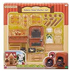 A bakery set with an oven to bake bread, and register with an opening drawer. Over 20 cute and realistic looking baked goods! Combine with the Red Roof Cosy Cottage (sold separately) to turn the house into a bakery. Stimulates imaginative role-playin...