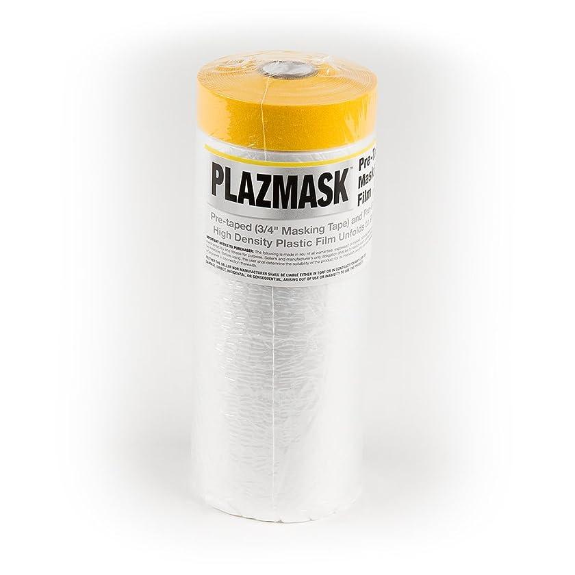 PlazMask Pre-Taped Masking Film, 9-Feet X 65-Feet