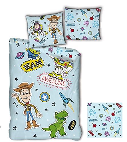 copripiumino singolo toy story Toy Story - Parure da letto per bambini