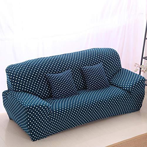 Fundas de sofá elásticas universales Funda para sofá seccional Sofá Angular Sillón Funda de Asiento Patrón A6 4 Asientos 235-300cm-1pc