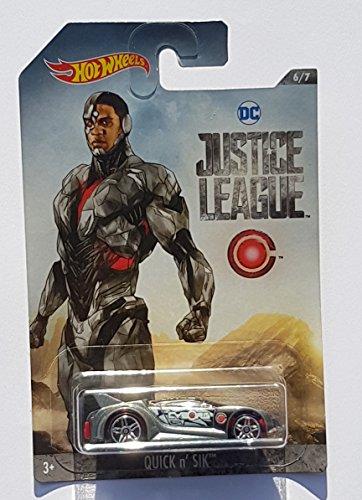 Hotwheels Cyborg Schnelle N \'sverkersson) Druckguss Justice League 1: 64