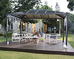 Palram Polycarbonate Gazebo without sides