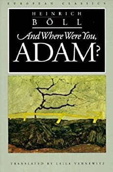 And Where Were You, Adam? 0810111640 Book Cover