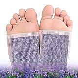ZhiLianZhao Detox Foot Pads, Parches Pies Desintoxicantes con Protección Ambiental Fácil Usar, Transpirable para Dormir, Alivio Antiestrés (100 pcs)