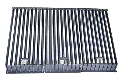 Hongso Heavy Duty Cast Iron Grill Cooking Grid Grates Replacement Parts for Broilmaster D3, Broilmaster P3, G3, S3, U3 Gas Grills,PCB503