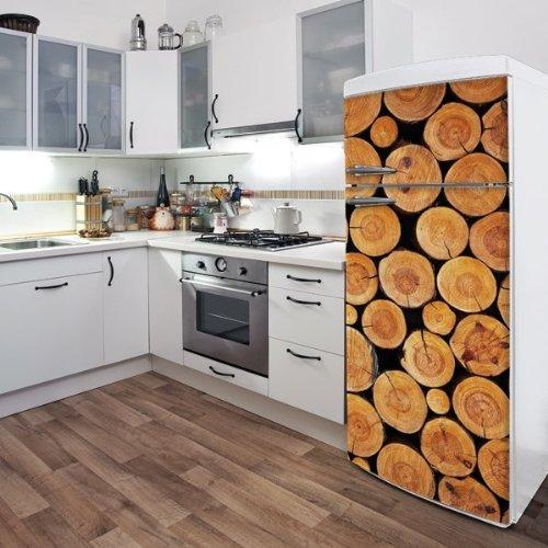 Domo D0106AJV5 Little Logs Appliance Stickers by Domo