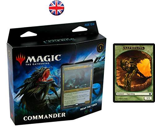 Magic The Gathering MTG-CMR-CD-EN Legends Commander Deck – zufällige Auswahl