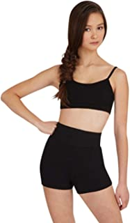 Capezio Women's Team Basic High Waisted Short