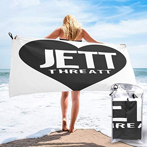 XCNGG JoanJett Beach Towels SandControl Towel Quickdry Bath Towel for Beach, SPA, Bath, Swim,Travel...