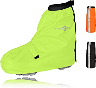 Überschuhe Fahrrad Regenüberschuh wasserdicht inkl. Reflektor-Streifen,..