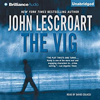The Vig audiobook cover art