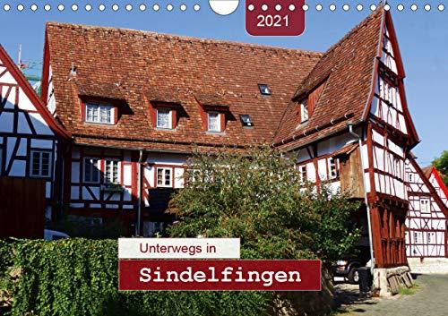 Unterwegs in Sindelfingen (Wandkalender 2021 DIN A4 quer)