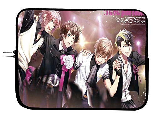 Dynamic Chord Anime Laptop Sleeve Bag 13 Inch Laptop Bag with Mousepad Surface - Protect Your Notebook Mac Book Pro MacBook Air iPad or Windows Devices in Style!