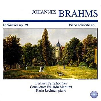 Piano Concerto No. 1 - 16 Waltzes, Op. 39