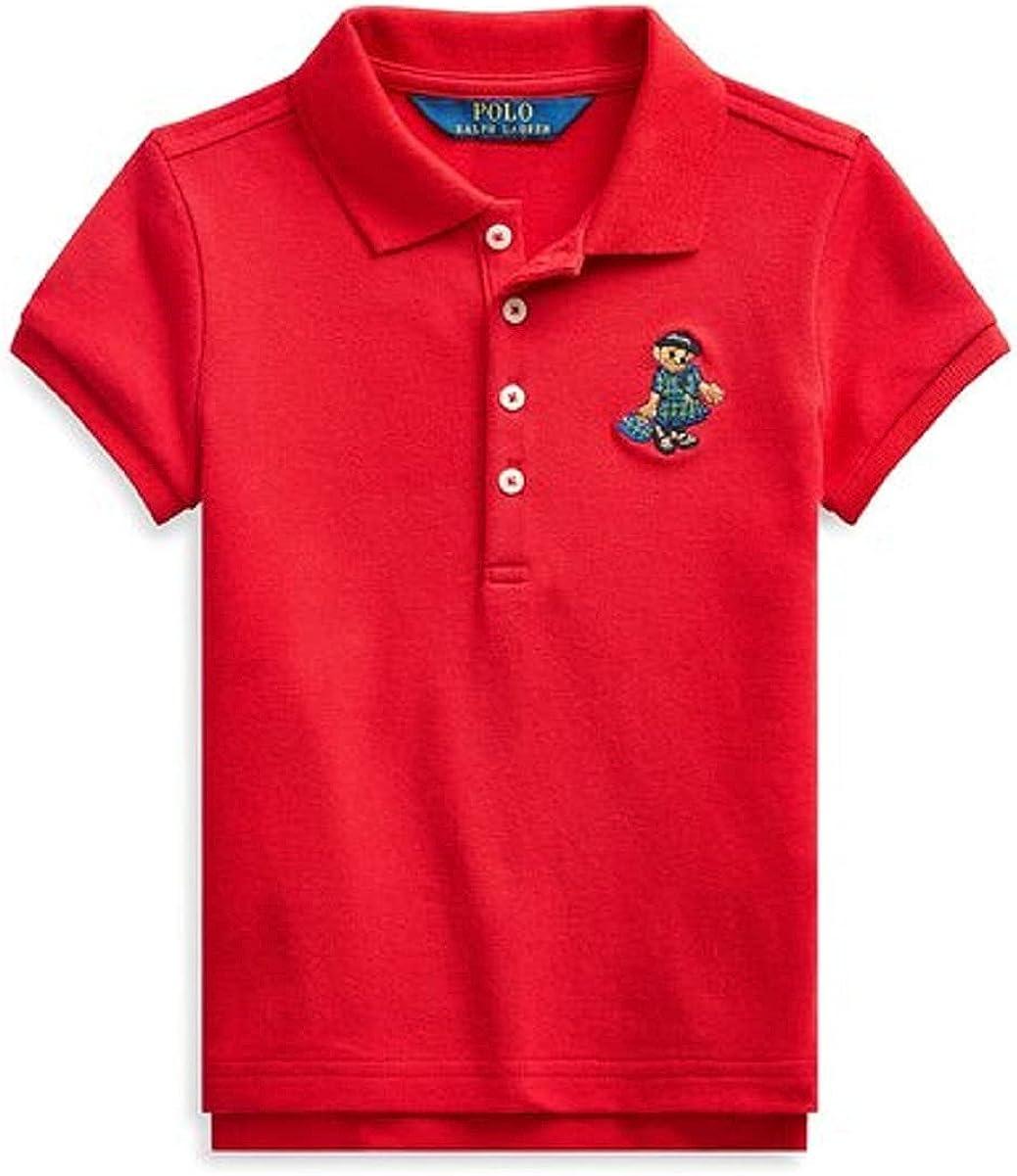 Polo Ralph Lauren RED Boys Short Sleeve Polo Shirt, US 2/2T