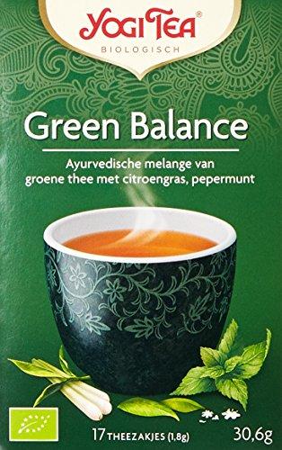 Yogi Tea Équilibre du Thé Vert Bio 17 Sachets