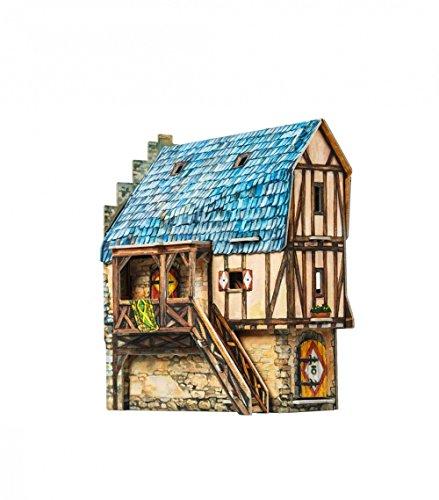 CLEVER PAPER- Puzzles 3D Escuela (14330)