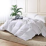 Luxury Queen Size Goose Down Comforter Duvet Insert, 1200 Thread Count...