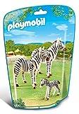 Playmobil-6641 Zoo Familia de cebras, Color (6641)