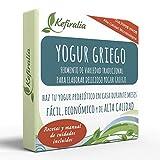 Fermento de Yogur Griego (Reusable de forma ilimitada) + Instrucciones + Recetas + Ayuda y asesoramiento en español - KEFIRALIA®