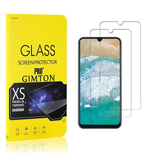 GIMTON Displayschutzfolie für Galaxy A50, 9H Härte, Anti Bläschen Displayschutz Schutzfolie für Samsung Galaxy A50, Einfach Installieren, 2 Stück