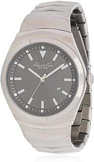 1694b9ea390b Kenneth Cole Reloj de Hombre Cuarzo analógico Correa y Caja de Acero KC9060