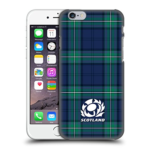 Head Case Designs Ufficiale Scotland Rugby Scozzese Logo 2 Cover Dura per Parte Posteriore Compatibile con Apple iPhone 6 / iPhone 6s