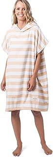 Rip Curl Women's HOOD TOWEL ISLAND STRIPE, Mustard, 1SZ