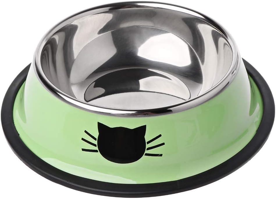 tegongse Thick Detroit Mall Non-Slip Cat Dog Single Bowl Utensils Foods Max 68% OFF Food