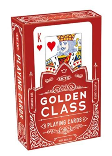 Tactic Playing Cards Golden Class 9 x 6 cm Paper Pack of 55