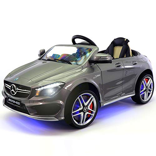 2020 Mercedes Benz CLA 12V Ride On Motorized Cars Powered Wheels W/ Remote, Dining Table, Leather Seat, LED Light- Silver