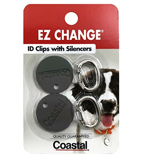 EZ Change Dog I.D. Clip with Silencer