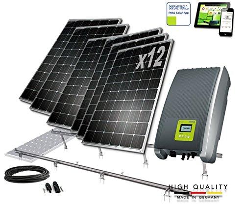 Kit solar Autoconsumo 3000W Inyeccion Cero