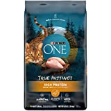 Purina ONE Natural, High Protein, Grain Free Dry Cat Food, True Instinct With Real Chicken - 6.3 lb. Bag