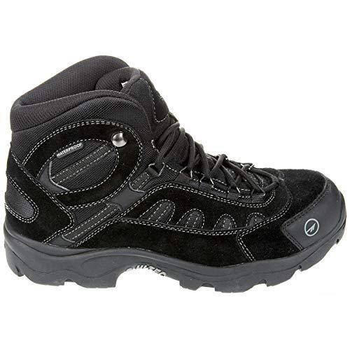 HI-TEC Bandera Mid Wateproof Hiking Boots for Men, Triple Black Exclusive