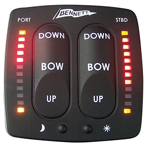 Bennett trim tab indicator